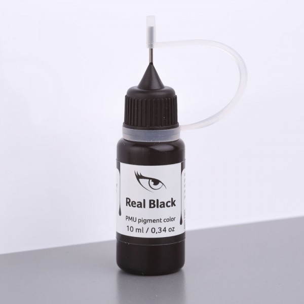Real Black PMU Pigment (Kalt), 10 ml