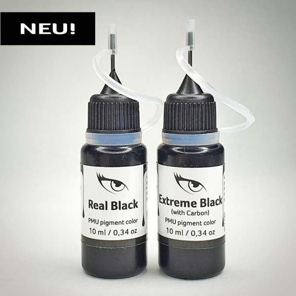 Black is Back! PMU Pigmente-Set, 2 x 10 ml