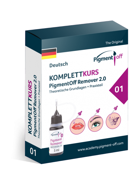 Komplettkurs PigmentOff-Remover 2.0