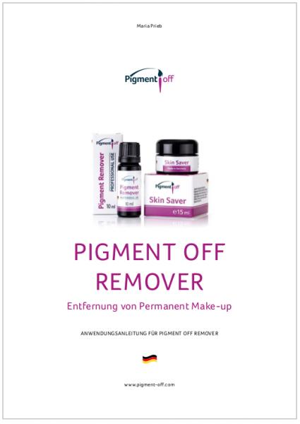 Anleitung zum PigmentOff-Remover, neue Version 2019